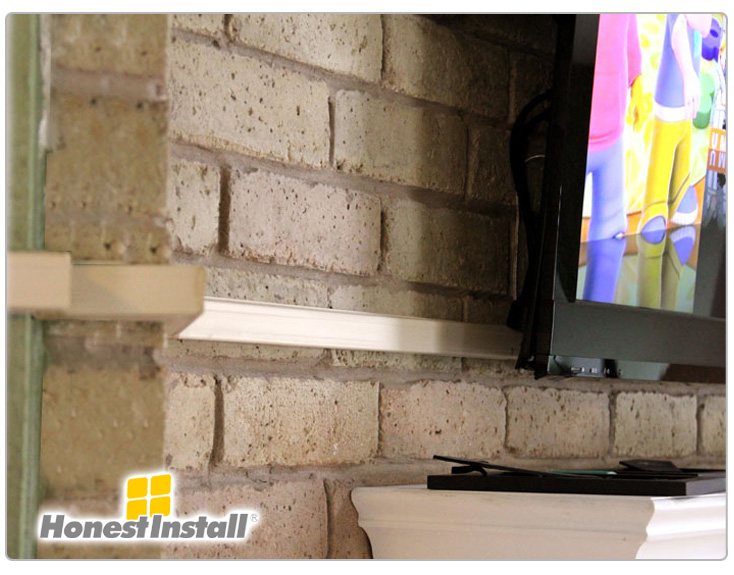 Commercial work honest install tv installation, home theater on install electrical outlet brick wall Install Electrical Outlet Existing Wall Install Electrical Outlet Box
